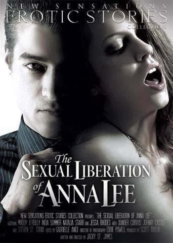 The Sexual Liberation Of Anna Lee from New Sensations front cover