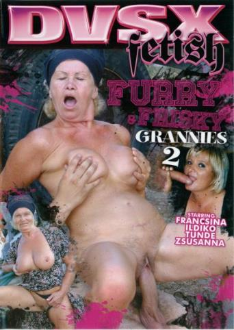 Furry And Frisky Grannies 2 from DVSX front cover