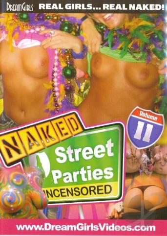Naked Street Parties 11 from DreamGirls front cover