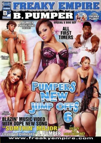 Pumper's New Jump Offs 6 from Freaky Empire front cover