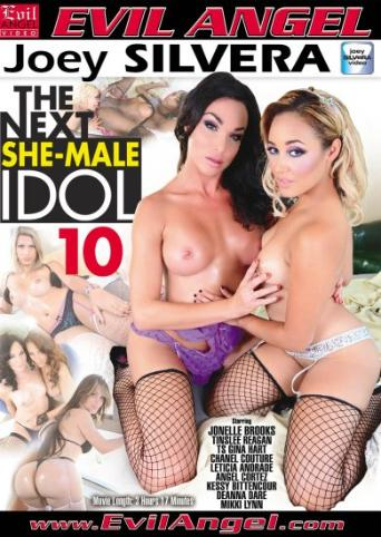The Next She-Male Idol 10 from Evil Angel: Joey Silvera front cover