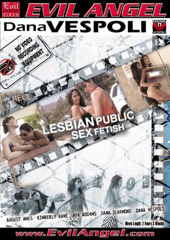 Lesbian Public Sex Fetish from Evil Angel front cover