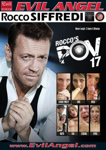 Rocco's POV 17 from Evil Angel: Rocco Siffredi front cover