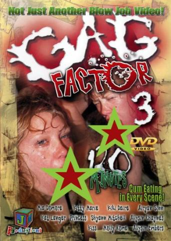 Gag Factor 3 from JM Productions front cover