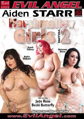 Marshmallow Girls 2 from Evil Angel front cover