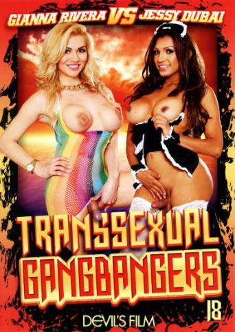 Transsexual Gangbangers 18 from Devil's Film front cover