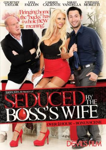 Seduced By The Boss's Wife from Devil's Film front cover
