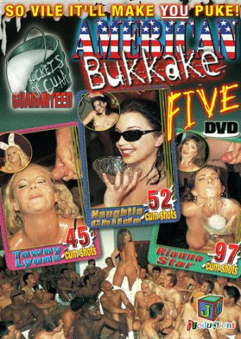 American Bukkake Five from JM Productions front cover
