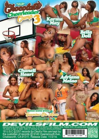 Chocolate Cheerleader Camp 3 from Devil's Film back cover