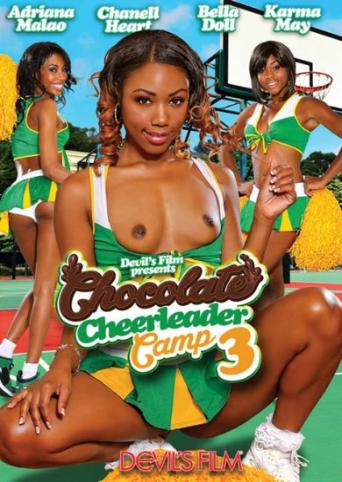 Chocolate Cheerleader Camp 3 from Devil's Film front cover