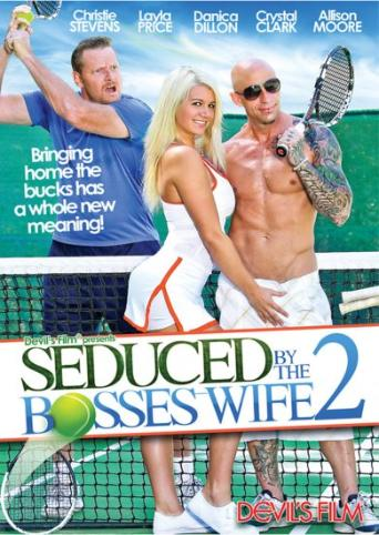 Seduced By The Bosses Wife 2 from Devil's Film front cover