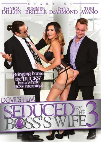 Seduced By The Boss's Wife 3 from Devil's Film front cover