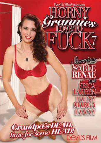 Horny Grannies Love To Fuck 7 from Devil's Film front cover