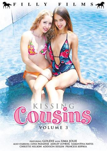 Kissing Cousins 3 from Filly Films front cover