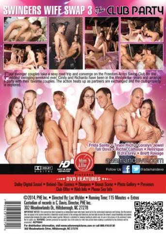 Swingers Wife Swap 3 The Club Party from Adam & Eve back cover