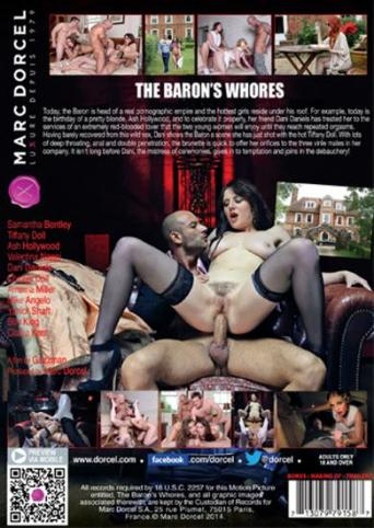 The Baron's Whores from Marc Dorcel back cover