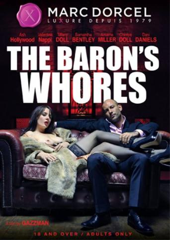 The Baron's Whores from Marc Dorcel front cover