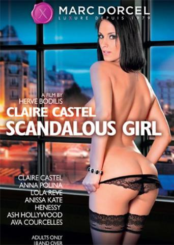 Claire Castel Scandalous Girl from Marc Dorcel front cover