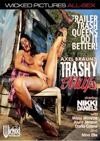 Axel Braun's Trashy MILFs from Wicked front cover