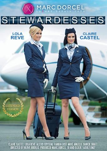 Stewardesses from Marc Dorcel front cover
