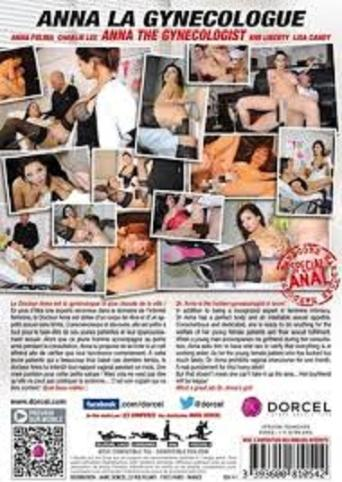 Anna The Gynocologist from Marc Dorcel back cover