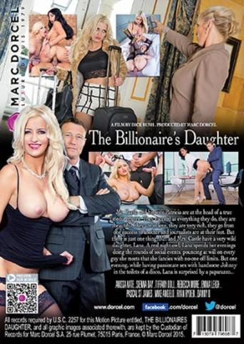 The Billionaire's Daughter from Marc Dorcel back cover