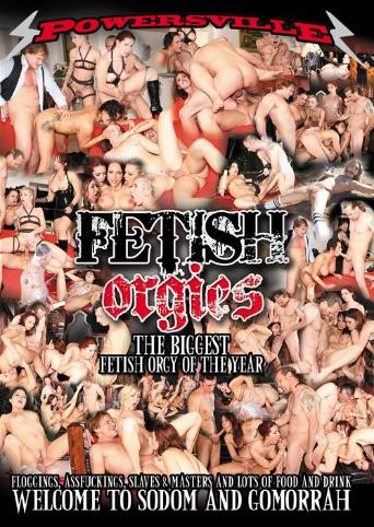 Fetish Orgies from Powersville front cover