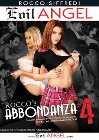 Rocco's Abbondanza 4 from Evil Angel: Rocco Siffredi front cover