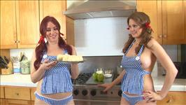 The Lesbian Cooking Show Scene 1