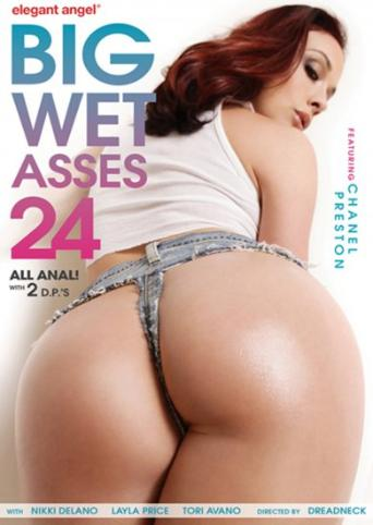 Big Wet Asses 24 from Elegant Angel front cover