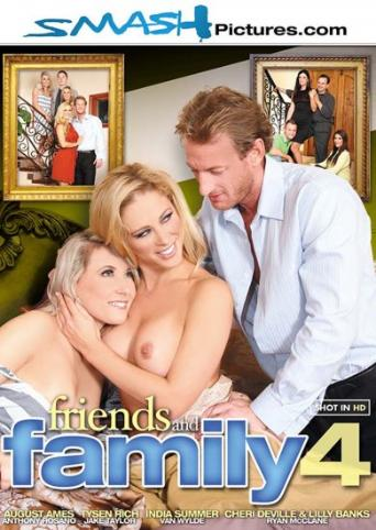 Friends And Family 4 from Smash Pictures front cover