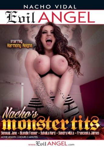 Nacho's Monster Tits from Evil Angel: Nacho Vidal front cover