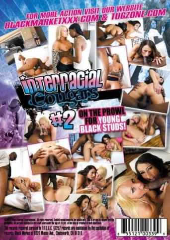 Interracial Cougars 2 from Black Market back cover