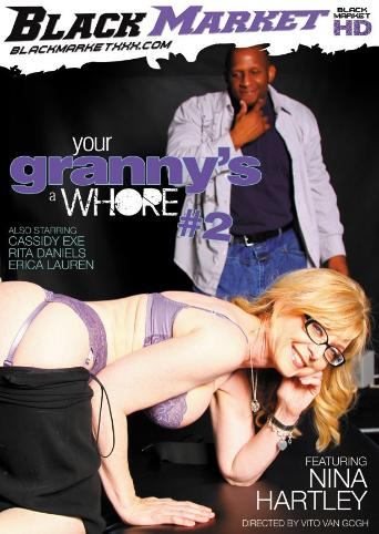 Your Granny's A Whore 2 from Black Market front cover