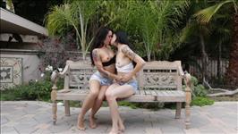 Sloppy Lesbian Kisses Scene 2