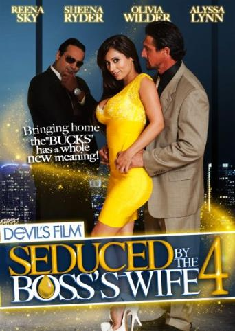 Seduced By The Boss's Wife 4 from Devil's Film front cover