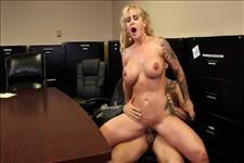 Busty Office MILFs 7