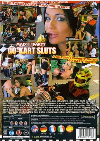 Go-Kart Sluts from MadSexParty back cover