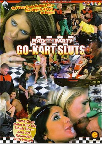 Go-Kart Sluts from MadSexParty front cover
