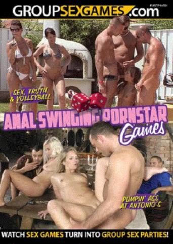 Anal Swinging Pornstar Games from Group Sex Games front cover