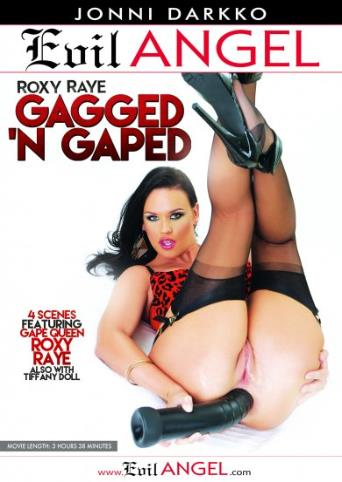 Roxy Raye Gagged 'N Gaped from Evil Angel: Jonni Darkko front cover