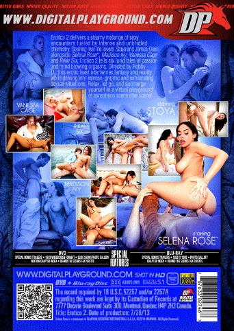 Erotico 2 from Digital Playground back cover