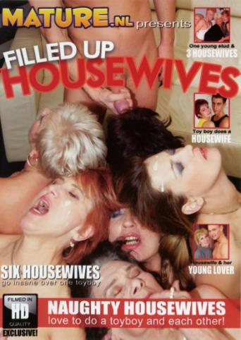 Filled Up Housewives from Mature front cover