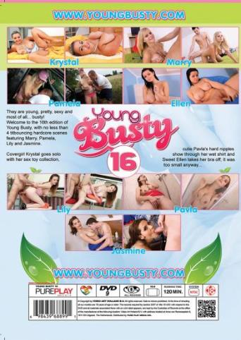 Young Busty 16 from YoungBusty back cover