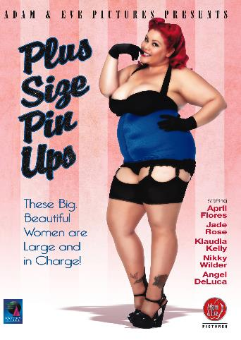 Plus Size Pin Ups from Adam & Eve front cover