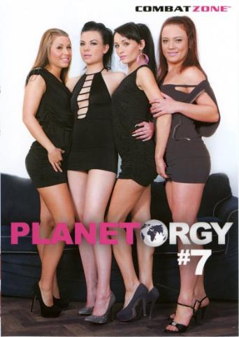 Planet Orgy 7 from Combat Zone front cover