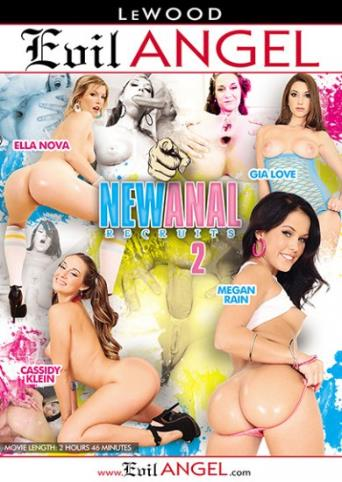New Anal Recruits 2 from Evil Angel front cover