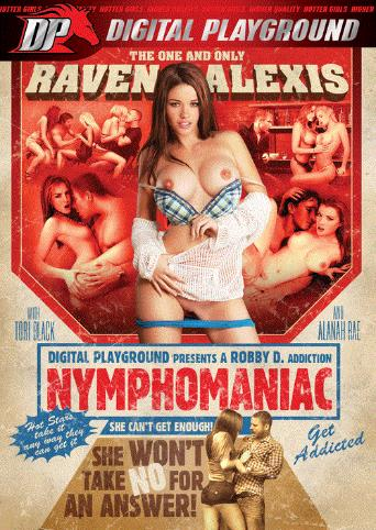 Nymphomaniac from Digital Playground front cover