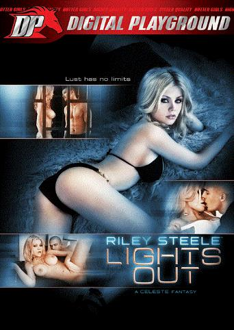 Riley Steele Lights Out from Digital Playground front cover
