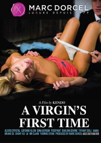 A Virgin's First Time from Marc Dorcel front cover